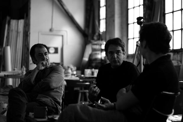 Salvador Juanpere, Ignasi Aballí i Antonio Ontañón  |   © Alán Carrasco