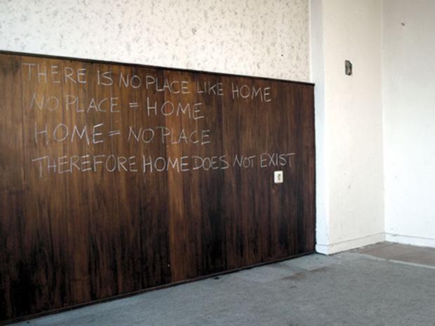 Kornelia Hoffmann, no place like home, 2010