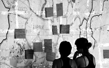 Grafitis, arte y política en Barcelona. (O los vándalos son ellos).