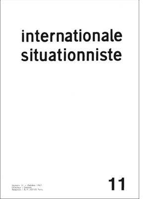 internationale situationniste 11