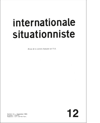 internationale situationniste 12