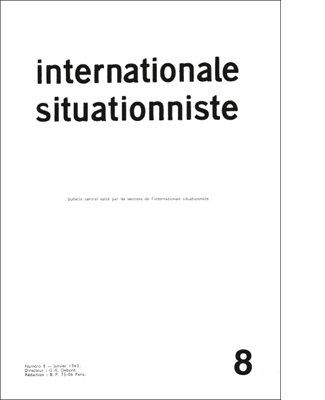 internationale situationniste 8