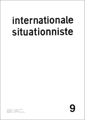 internationale situationniste 9